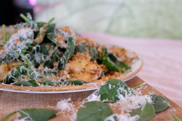 Gamba truffel salade