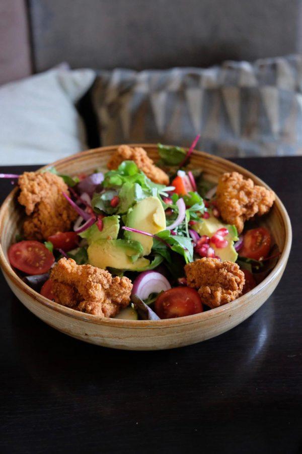 Salade crispy chicken